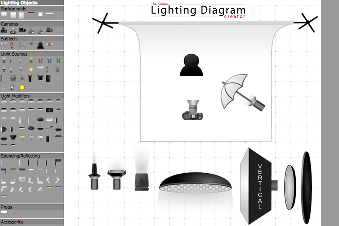 Lighting Diagram Creator   Le Site Internet Pour Cr U00e9er Vos Sch U00e9mas D U0026 39  U00e9clairage Studio
