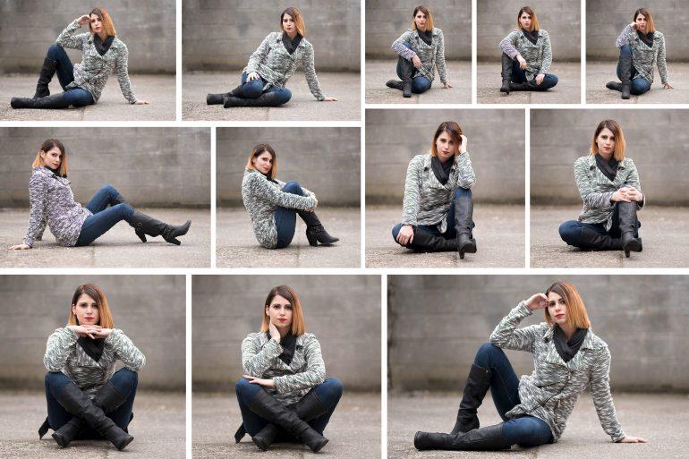 20 id es de poses r aliser avec une mod le photo femme en position assise - Idee pose photo homme ...