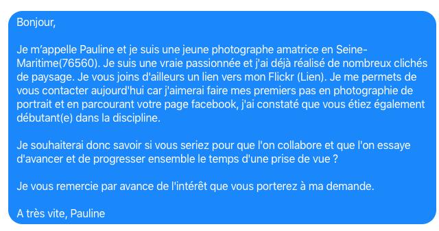 Comment Contacter Des Modeles Photos Exemples Et Messages Types