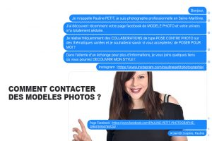 COMMENT CONTACTER DES MODELES PHOTOS ?
