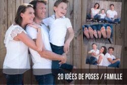 20 IDÉES DE POSES PHOTOS A RÉALISER EN FAMILLE